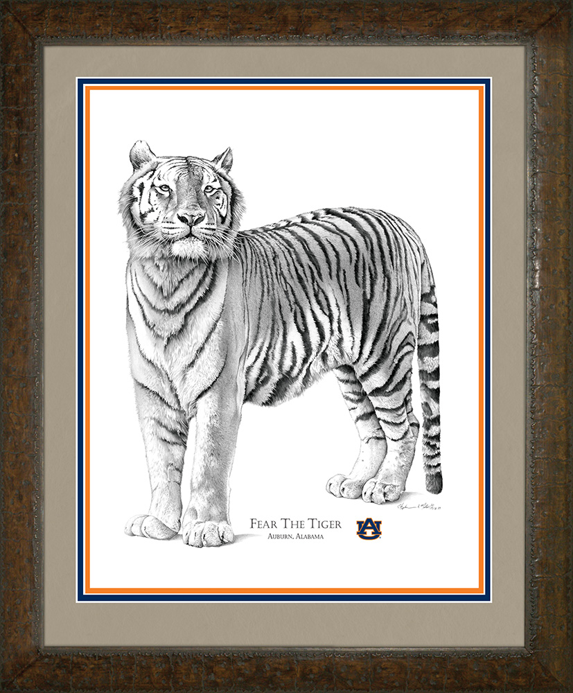 Fear the Tiger: Framed